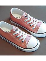 Недорогие -Девочки Обувь Полотно Весна & осень Удобная обувь Кеды для Дети / Для подростков Белый / Черный / Розовый