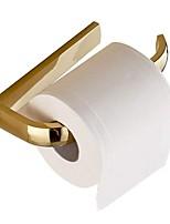abordables -Porte Papier Toilette Design nouveau Moderne Laiton 1pc Montage mural
