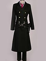 Недорогие -Вдохновлен KARNEVAL Косплей Аниме Косплэй костюмы Косплей Костюмы Английский Пальто / Кофты / Брюки Назначение Муж. / Жен.