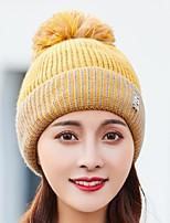 Недорогие -Жен. Активный / Классический Лыжная шапочка Контрастных цветов