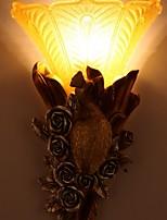 baratos -Legal Contemporâneo Moderno Luminárias de parede Quarto de Estudo / Escritório Resina Luz de parede 220-240V 40 W