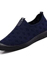 Недорогие -Муж. Комфортная обувь Полиуретан Весна Мокасины и Свитер Черный / Темно-синий / Серый