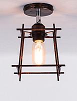 Недорогие -Потолочные светильники Рассеянное освещение Окрашенные отделки Металл Очаровательный, Творчество 110-120Вольт / 220-240Вольт
