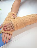 Недорогие -женские перчатки без рукавов с длинными рукавами - сплошной цвет