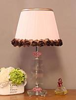 Недорогие -Современный современный Декоративная Настольная лампа Назначение Спальня Хрусталь 220 Вольт