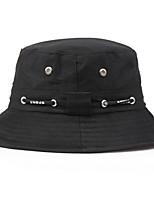Недорогие -женская полиэфирная шляпа от солнца - однотонная