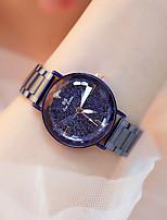 Недорогие -Жен. Нарядные часы Кварцевый Синий / Фиолетовый Защита от влаги Cool Аналоговый Дамы Мода Элегантный стиль - Лиловый Синий