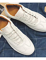 Недорогие -Муж. Комфортная обувь Микроволокно Лето Кеды Белый