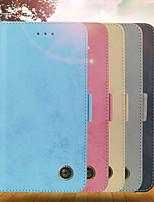 Недорогие -Кейс для Назначение Apple iPhone XR / iPhone XS Max Кошелек / Бумажник для карт / со стендом Чехол Однотонный Твердый Кожа PU для iPhone XS / iPhone XR / iPhone XS Max