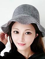 Недорогие -Жен. Активный / Классический Широкополая шляпа / Кепка-восьмиклинка Однотонный