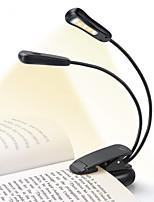 abordables -rechargeable 5500-6000k 5 clip de lumière conduit livre facile sur les lumières de lecture pour lire au lit 9 luminosité 4-6 heures de lecture léger