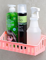 Недорогие -Полка для ванной Креатив Современный Пластик 1шт На стену