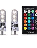 Недорогие -2pcs T10 Автомобиль Лампы 2 W SMD 5050 120 lm 6 Светодиодная лампа Лампа поворотного сигнала Назначение Универсальный Все года