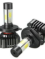 Недорогие -2pcs H13 / 9004 / H7 Автомобиль Лампы 40 W COB 4800 lm 4 Светодиодная лампа Налобный фонарь Назначение Универсальный Все года