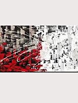 abordables -Peinture à l'huile Hang-peint Peint à la main - Abstrait Moderne Sans cadre intérieur