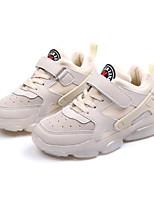Недорогие -Мальчики / Девочки Обувь Синтетика Наступила зима Удобная обувь Кеды На эластичной ленте / На липучках для Дети / Дети (1-4 лет) Белый / Черный