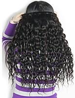 Недорогие -4 Связки Бразильские волосы Волнистые 8A Натуральные волосы Необработанные натуральные волосы Подарки Косплей Костюмы Головные уборы 8-28 дюймовый Естественный цвет Ткет человеческих волос