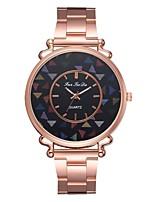 Недорогие -Жен. Нарядные часы Наручные часы Кварцевый Розовое золото Новый дизайн Повседневные часы Аналоговый На каждый день Мода - Розовое золото Один год Срок службы батареи