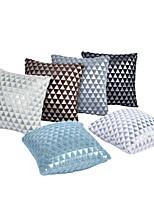 abordables -6 pcs Coton / Lin Taie d'oreiller / Housse de coussin, Géométrique / Formes Géométriques / Moderne Classique & Intemporel / Moderne contemporain