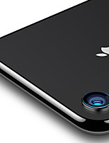Недорогие -Защитная плёнка для экрана для Apple iPhone XR Закаленное стекло 1 ед. Протектор объектива камеры HD / Уровень защиты 9H / Против отпечатков пальцев