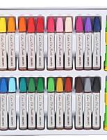 Недорогие -Масляная пастель 72052 Резина 24 pcs Для школы Дети