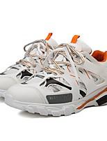 Недорогие -Муж. Комфортная обувь Синтетика Весна & осень Кеды Белый / Черный / Желтый