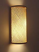 Недорогие -Cool Современный современный Настенные светильники кафе Дерево / бамбук настенный светильник 220-240Вольт 40 W