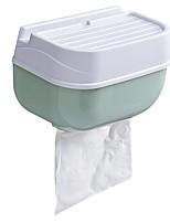 Недорогие -Держатель для туалетной бумаги Самоклеющиеся Современный ПВХ 1шт На стену