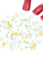 Недорогие -Стразы для ногтей Мини / 3D интерфейс / Специальный дизайн Тату с тотемом Тату с животными Тату со стразами маникюр Маникюр педикюр Металл тропический / Мода Рождество / Особые случаи / Halloween
