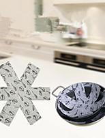 Недорогие -Кухня Чистящие средства Нетканое полотно Чистящее средство Новый дизайн / Творческая кухня Гаджет 3шт