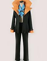 baratos -Inspirado por One Piece Brook Anime Fantasias de Cosplay Ternos de Cosplay Sólido Blusa / Calças / Mais Acessórios Para Homens / Mulheres
