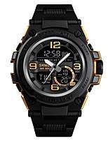 Недорогие -SKMEI Муж. Спортивные часы Армейские часы Цифровой Черный 50 m Будильник Календарь Секундомер Аналого-цифровые На каждый день Мода - Красный Зеленый Синий Один год Срок службы батареи / Хронометр