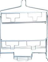 Недорогие -Полка для ванной Креатив Современный Алюминий На стену
