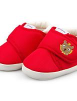 Недорогие -Мальчики / Девочки Обувь Хлопок Наступила зима Удобная обувь / Обувь для малышей Кеды для Дети Красный / Розовый / Хаки