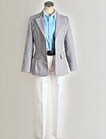 Недорогие -Вдохновлен Одиннадцать молний Хирото Кияма / Гуран Аниме Косплэй костюмы Косплей Костюмы Современный стиль Пальто / Блузка / Кофты Назначение Муж. / Жен.