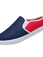 Недорогие -Муж. Комфортная обувь Полиуретан Осень На каждый день Мокасины и Свитер Дышащий Черный / Бежевый / Синий