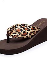 Недорогие -Женские тапочки Домашние тапки Кружевная кромка Сатин Вышивка Обувь
