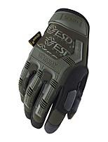baratos -Dedo Total Homens Motos luvas Microfibra / Náilon / silica Gel Anti-desgaste / Protecção / Antiderrapante