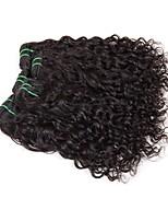 Недорогие -6 Связок Бразильские волосы Индийские волосы Волнистые 8A Натуральные волосы Необработанные натуральные волосы Подарки Косплей Костюмы Головные уборы 8-28 дюймовый Естественный цвет