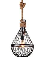 Недорогие -Мини Подвесные лампы Рассеянное освещение Окрашенные отделки Металл Мини, Новый дизайн 110-120Вольт / 220-240Вольт