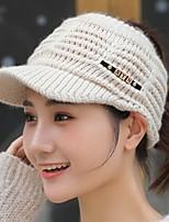 Недорогие -Жен. Активный / Классический Лыжная шапочка / Шляпа от солнца Однотонный