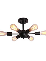 Недорогие -OYLYW 6-Light Потолочные светильники Рассеянное освещение Окрашенные отделки Металл Новый дизайн 110-120Вольт / 220-240Вольт