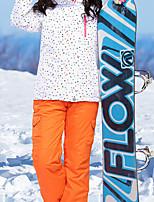 Недорогие -MARSNOW® Жен. Лыжная куртка и брюки С защитой от ветра, Водонепроницаемость, Теплый Зимние виды спорта 100% хлопковая синель Наборы одежды Одежда для катания на лыжах / Зима