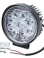 Недорогие -SO.K 1 шт. Автомобиль Лампы 27 W Интегрированный LED 6000 lm 9 Светодиодная лампа Противотуманные фары / Фары дневного света / Лампа поворотного сигнала Назначение Универсальный Все года