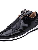 Недорогие -Муж. Комфортная обувь Полиуретан Зима На каждый день Кеды Нескользкий Золотой / Черный / Серебряный