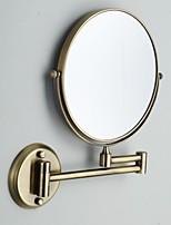 Недорогие -Зеркало Регулируется / Cool Современный современный Металл 1шт Украшение ванной комнаты