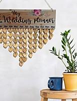 baratos -Ornamentos Madeira 1conjunto Casamento