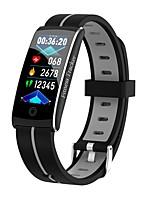 Недорогие -Indear F10C Смарт Часы Умный браслет Android iOS Bluetooth Smart Водонепроницаемый Пульсомер Измерение кровяного давления / Сенсорный экран / Израсходовано калорий / Секундомер / Педометр