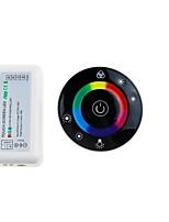 abordables -ZHT 1pc Accessoire de feuillard / RF sans fil Plastique Contrôleur RGB Couleurs multiples pour la lumière de bande de LED RVB / pour la bande LED