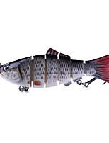 Недорогие -1 pcs Жесткая наживка / Рыболовная приманка / Рыбалка Инструменты Жесткая наживка Пластик / Углеродистая сталь Простая установка / Легкий и удобный